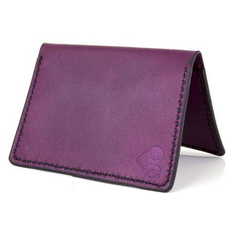 Handmade Leather Business Card Holder - handmade bifold leather business card holder room