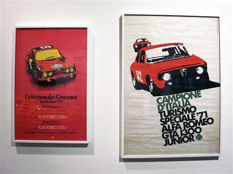 designboom advertising alfa romeo exhibition at la triennale museum milan