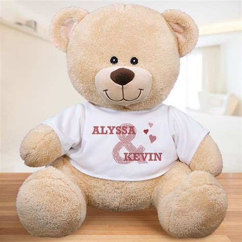personalized couples teddy bear giftsforyounow