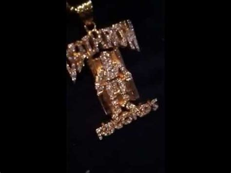 Row Records Pendant Gold Row Records Pendant