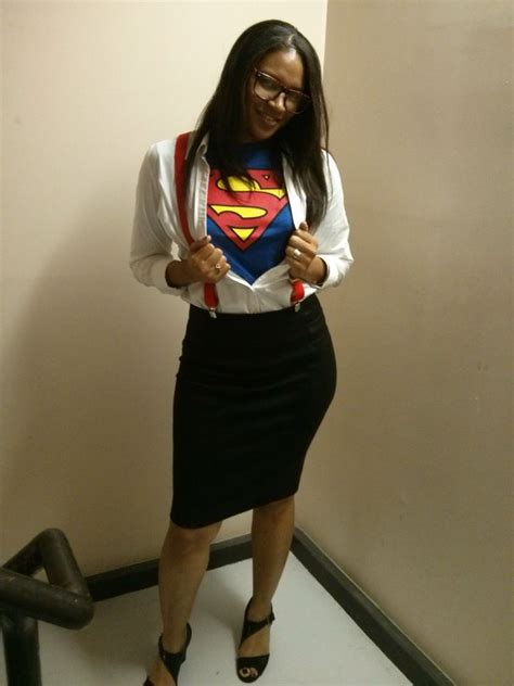 super woman incognito easy halloween costume   work