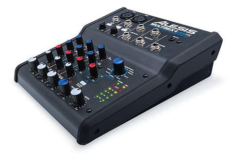 Mixer Audio Alesis alesis multimix 4 usb fx 4 channel mixer with effects plus