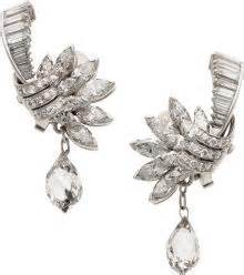 Platinum 11 50 Mm Hinged Earrings diamonds take the center stage in december heritage