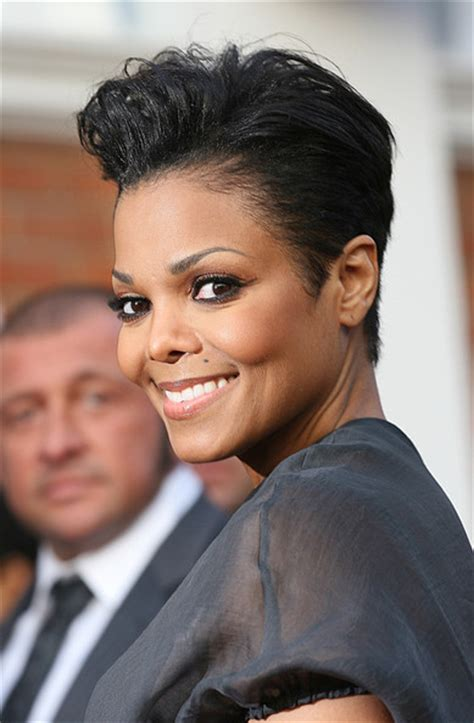 short cut with janet hair short cut with janet hair short relaxed hairstyles on