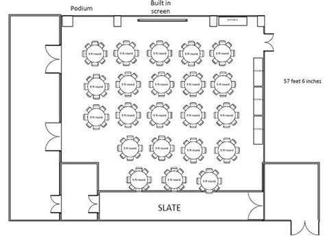floor plan event 10 small details that ensure a huge impact at your event