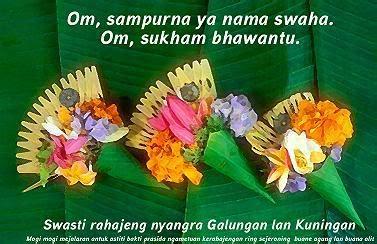 sms kartu ucapan selamat hari raya galungan dan kuningan hindu