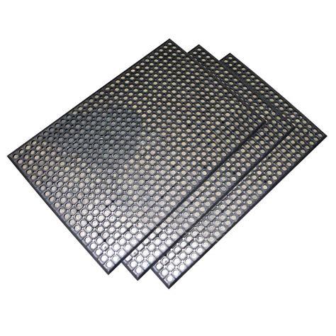 buffalo tools heavy duty 24 in x 36 in rubber floor mat