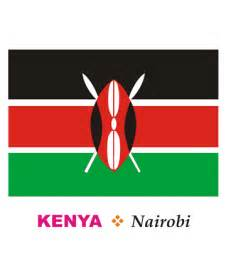 kenya flag colors kenya flag coloring pages for to color and print