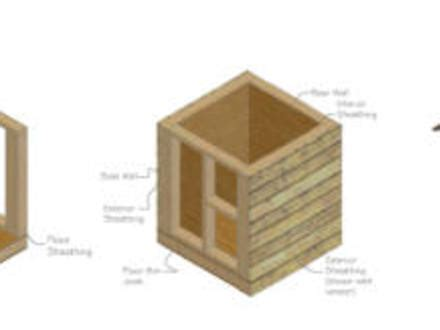 flat roof dog house plans small log home builders small log house floor plans small easy to build house plans