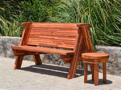 redwood bench rustic redwood bench custom garden seating
