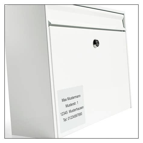 Namensschild Aufkleber Zum Bestellen by Namensschilder Und Aufkleber F 252 R Den Briefkasten