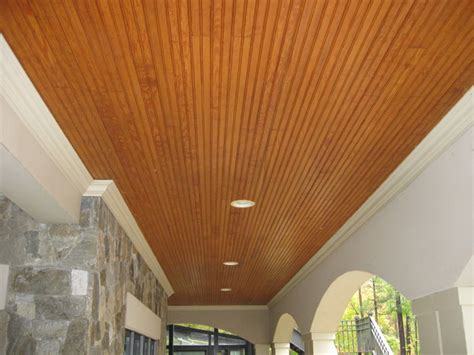 How To Hang Tongue And Groove Ceiling by Tongue And Groove Porch Ceiling