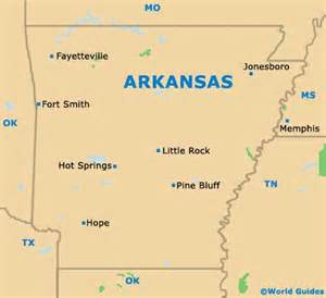 us map arkansas state rock maps and orientation rock arkansas
