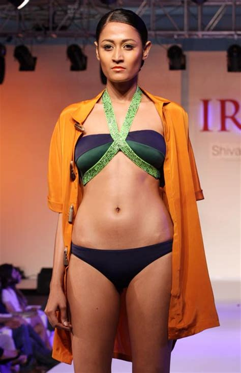 Wardrobe Of Indian Models by Pics Flirty Outrageous Beachwear At Resort Fashion