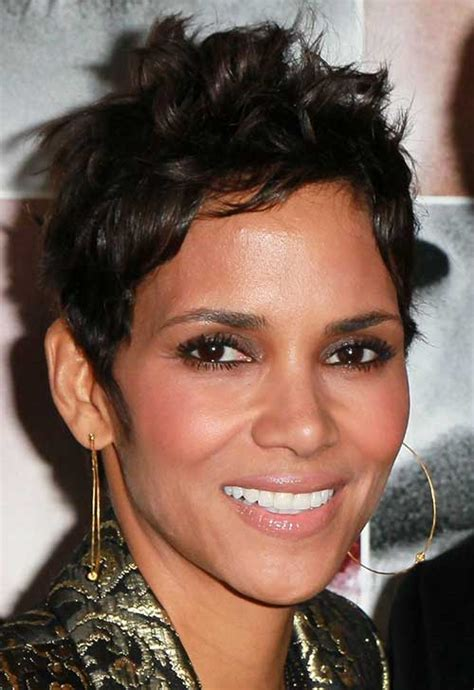 heart shaped faces most attractive 20 best halle berry pixie cuts short hairstyles 2017