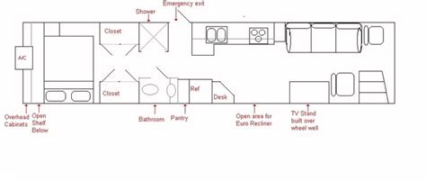 rv bus conversion floor plans floorplan jpg 933 215 398 skoolie rv sle floor plans