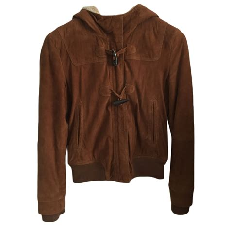 Comptoir Des Cotonniers Jacket by Zipped Jacket Comptoir Des Cotonniers 38 M T2 Brown