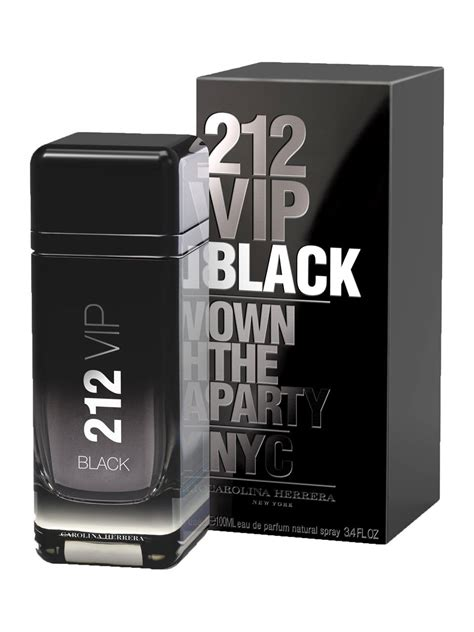 212 vip black carolina herrera cologne a new fragrance