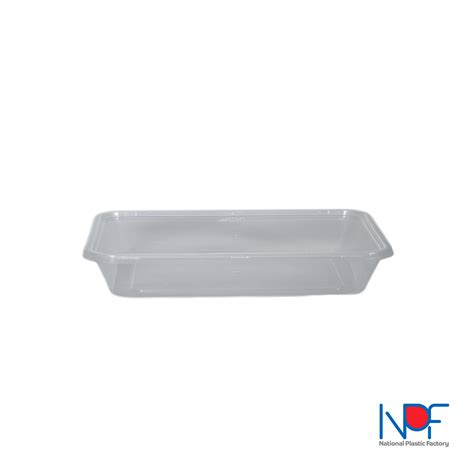 Container Thinwall Microwaveable 500ml thin wall food container microwavable 500 ml rectangular lt model national plastic factory