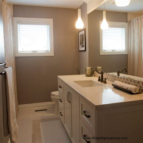 oakville house renovation contemporary bathroom