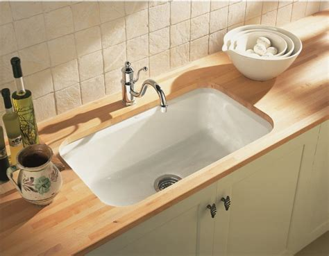 How To Refinish Kitchen Sink How To Refinish Cast Iron Sinks The Homy Design