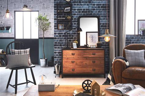 Style Industriel Salon by Salon Style Industriel Moderne