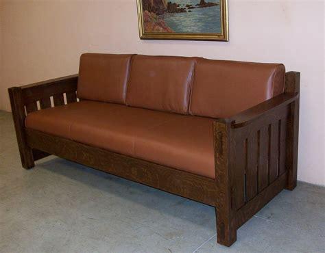 mission oak sofa mission oak sofa sold arts crafts mission oak antique 1905