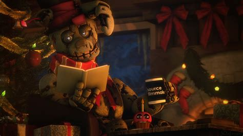 Charming 3 Dimensional Christmas Cards #2: _sfm_fnaf___christmas_springtrap__4k__by_dafomin-darmvwz.png