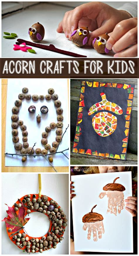 acorn crafts for my favorite diy acorn crafts crafty morning