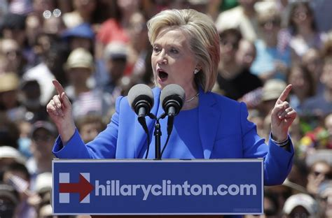 where does hillary clinton work hillary clinton launches her caign with a speech the