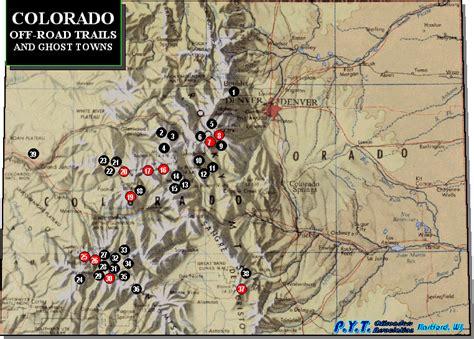 colorado trail maps 4x4