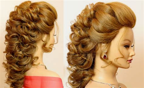 Bridal Hairstyles For Hair Tutorial by Bridal Prom Hairstyle For Hair Tutorial Step By Step