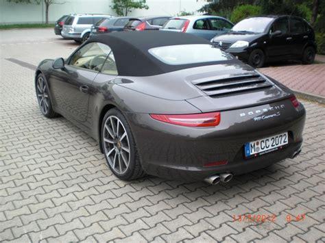 Porsche 911 Neues Modell by Porsche 911 Carrera S Cabrio Neues Modell 991 In Der