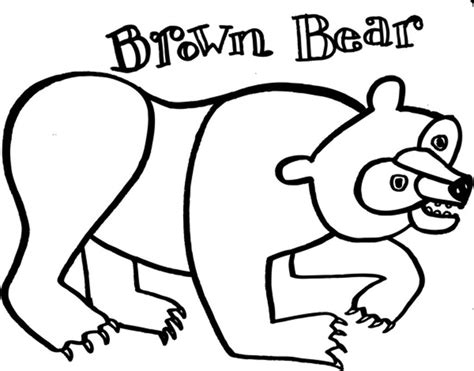 brown coloring pages brown coloring page eric carle coloring home