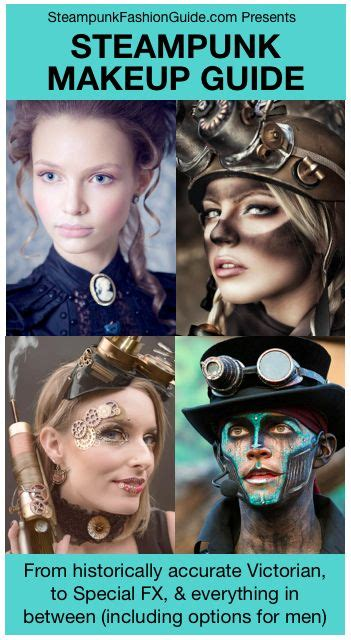 steampunk makeup guide authentic historically accurate