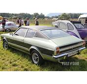 1971 Ford Taunus 2300 GXL Coup&233 Rear View  1970s