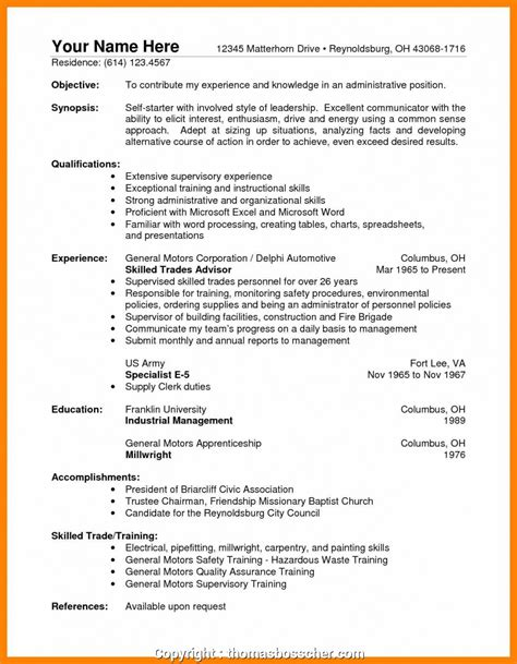 modern warehouse supervisor skills resume warehouse
