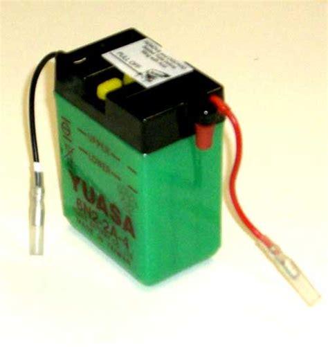 Suzuki Ls650 Battery New Yuasa Battery 6n2 2a 4 Suzuki Rv90 Rover Tc90 Ts250