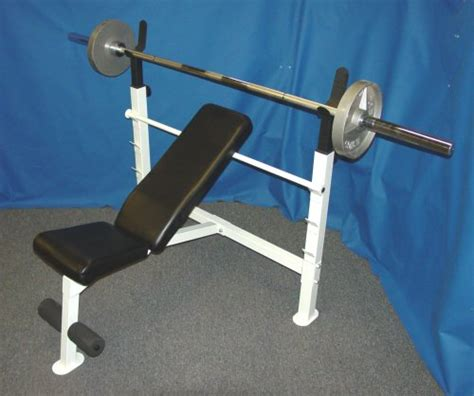 olympic bench press set olympic weight bench olympic bench press with lb olympic