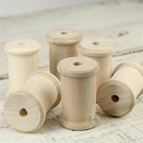 woodwork craft supplies unfinished wood spool wooden spools unfinished wood