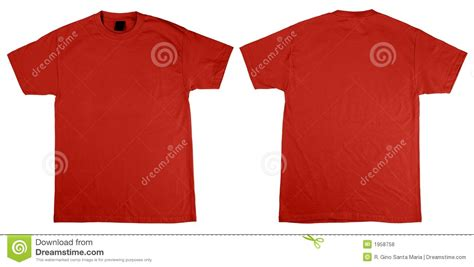 t shirt front and back royalty free stock photos image