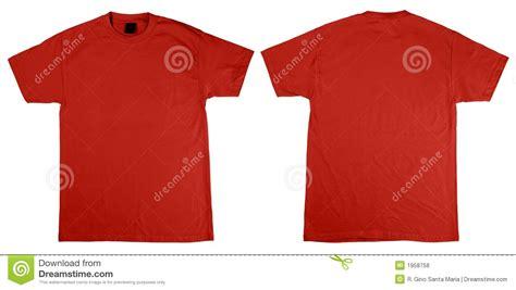 Tshirt Kaos Sound t shirt front and back royalty free stock photos image