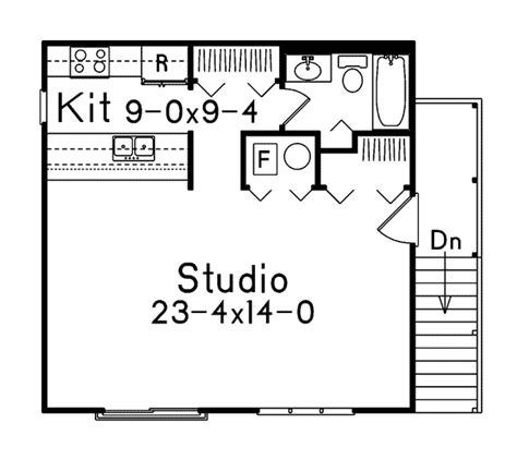 Garage Studio Apartment Plans small studio apartment floor plans studio