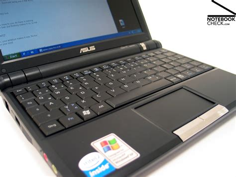 Keyboard Asus Eee Pc 4g Review Asus Eee Pc 900 Subnotebook Notebookcheck