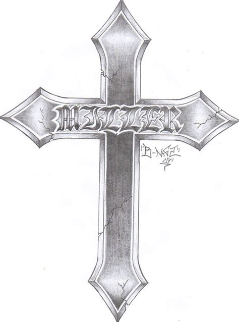 cross tattoo sketches pencil sketches of crosses www imgkid the image