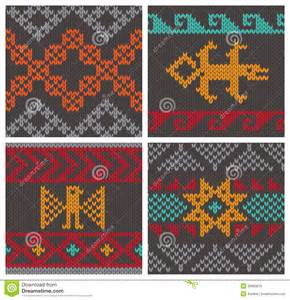 traditional andean knitting patterns royalty free stock