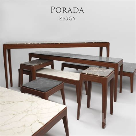 3d models: Table   Porada ziggy 1 8