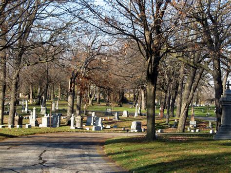 the park next door forest home cemetery milwaukee wi