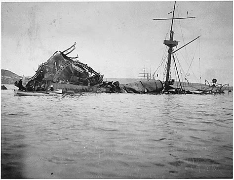 The Sinking Of The Maine by Remember The Maine The Edge Of The American West The