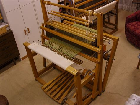 rug weaving loom hill weaving studio rug warp on loom